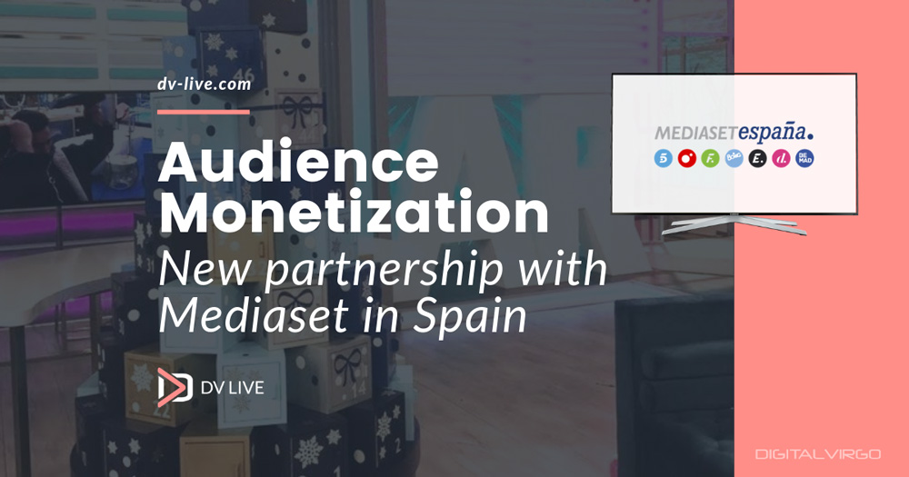 New partnership with Mediaset in Spain