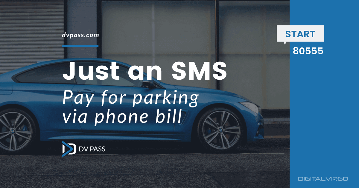 Pay for Parking via phone bill