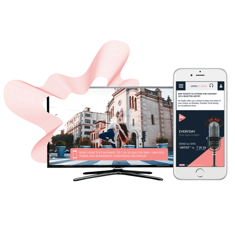 TV and mobile with DV Live services