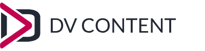 Logo of DV Content