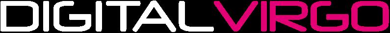 Logo Digital Virgo White and Pink