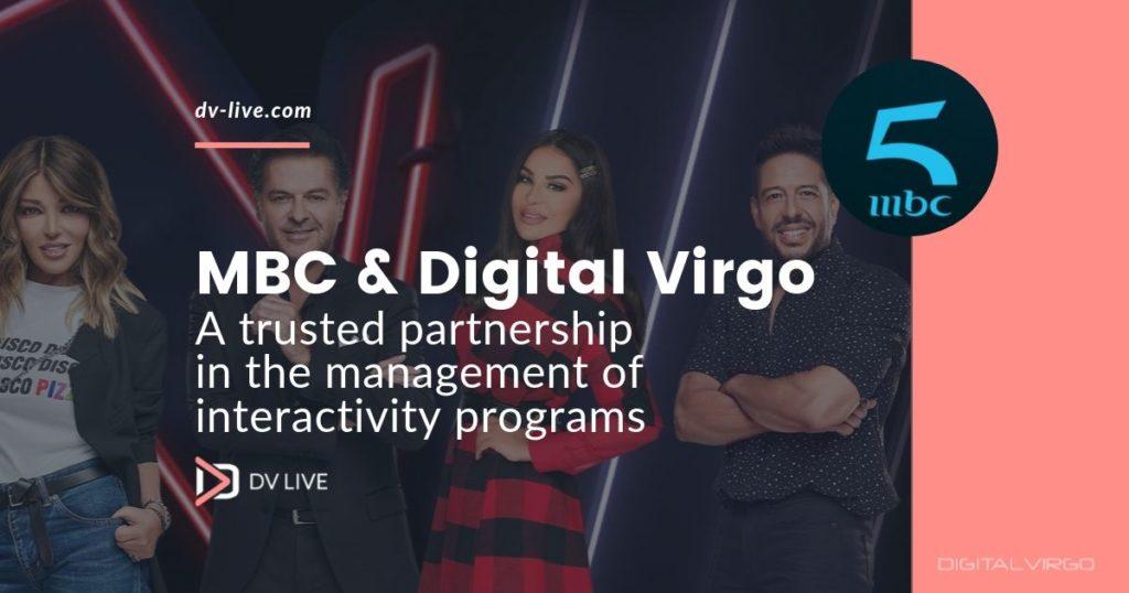 DV Live supporte les programmes d'interactivité antenne de MBC pour sa nouvelle chaîne mbc5