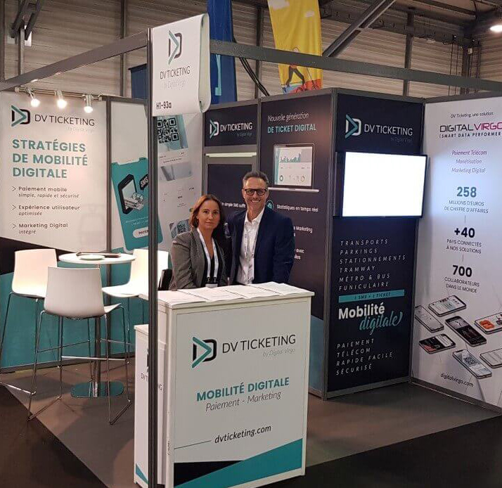 Booth at RNTP exhibition in Nantes