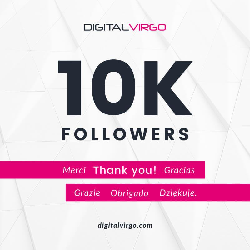 More than 10 000 followers on LinkedIn