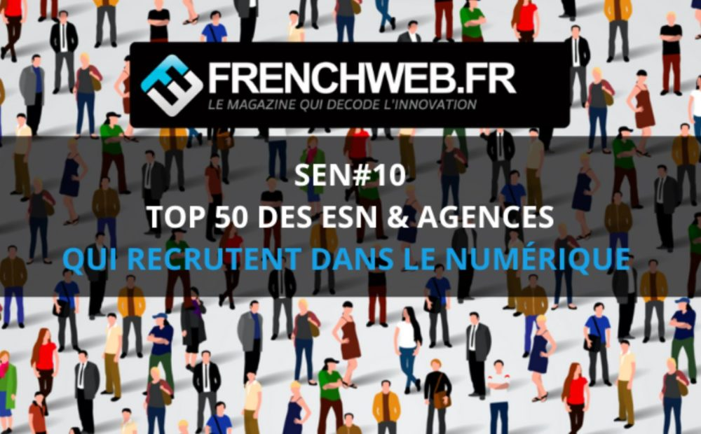 Digital Virgo is in Top 50 French recruiting companies by Frenchweb