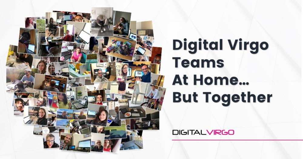 Dv Teams are working remotely but staying connected with each other