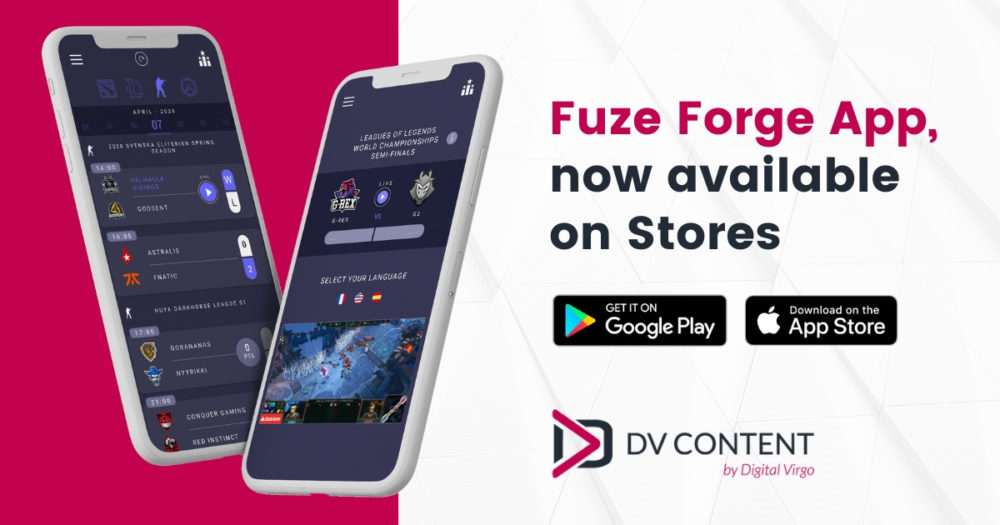 Fuze Forge app is now abailable on Google Play and App Store