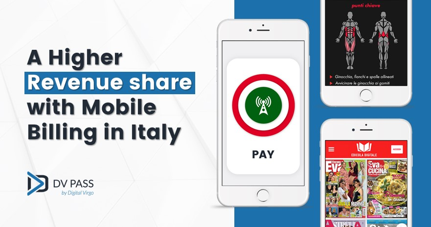 Boost your revenues with Carrier Billing in Italy