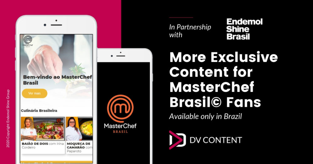 Monétisation du contenu grâce à une PWA dédiée à MasterChef Brasil©