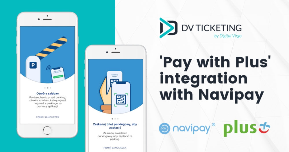 Pay with Plus is now commercially connected to the parking service Navipay