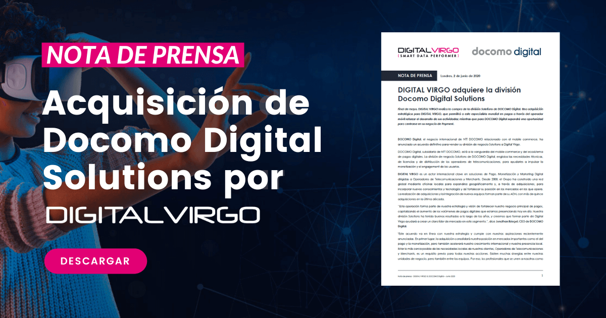 Acquisición de Docomo Digital Solutions