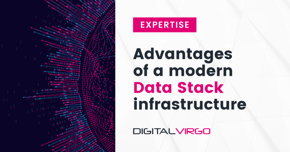Advantages of a modern data stack infrastructure
