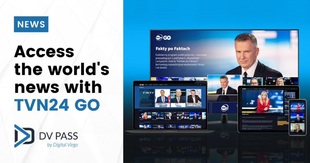 Access to the world's news with TVN24 Go