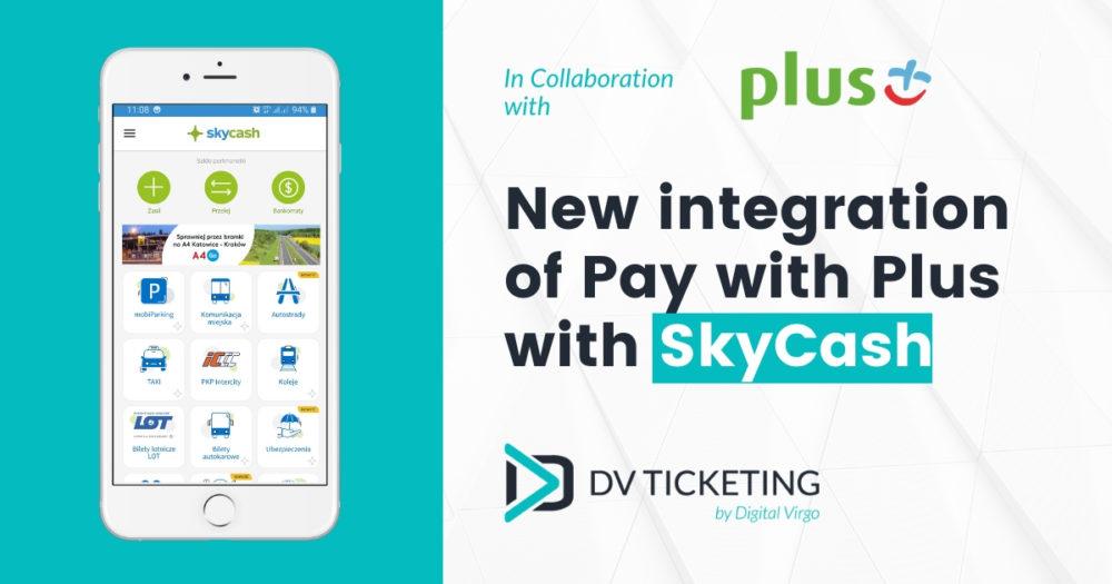 New integration of Pay with Plus and SkyCash