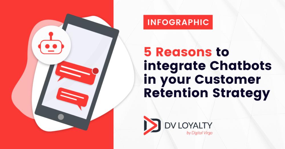 5 bonnes raisons d'intégrer les chatbots dans votre stratégie de rétention client.