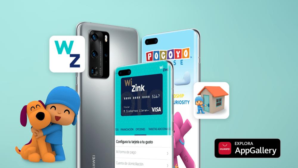 Pocoyo House y WiZink Bank se unen a la cartera de aplicaciones de Huawei AppGallery en España