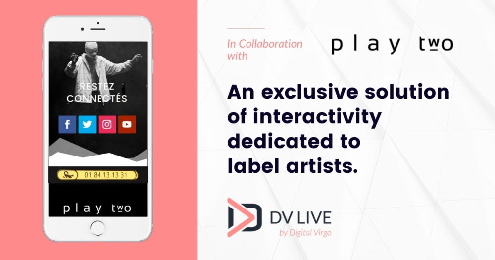 An exclusive solution of interactivity dedicated to label artists.