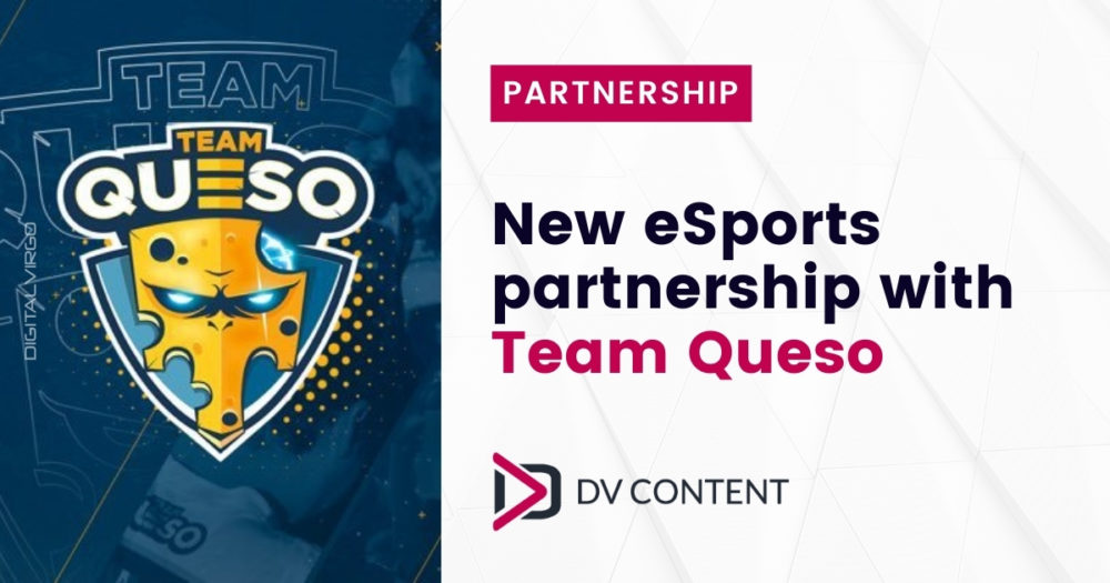 new esports partnership with team queso