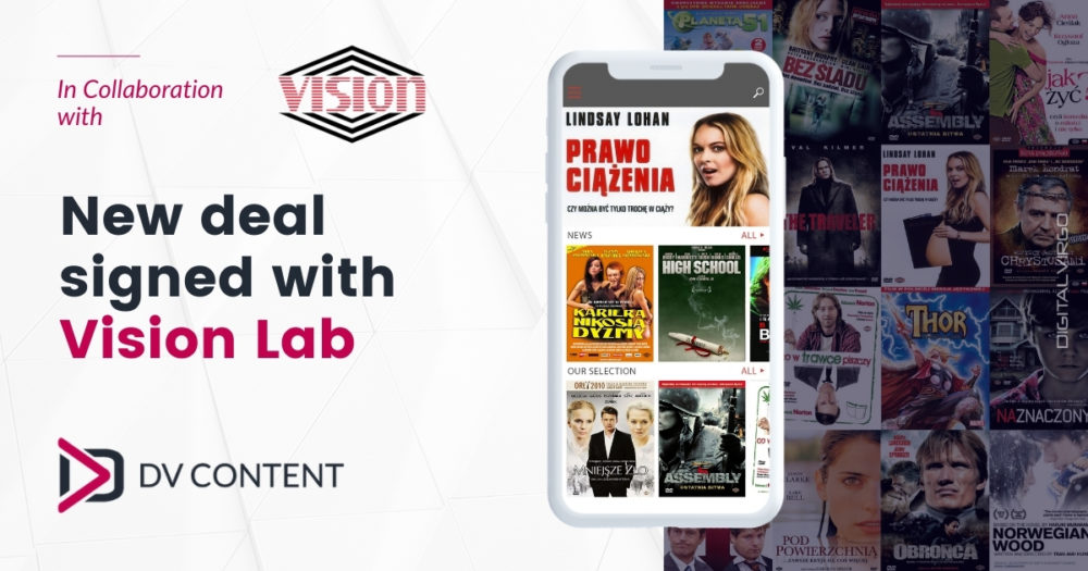 New deal signed with Vision Lab