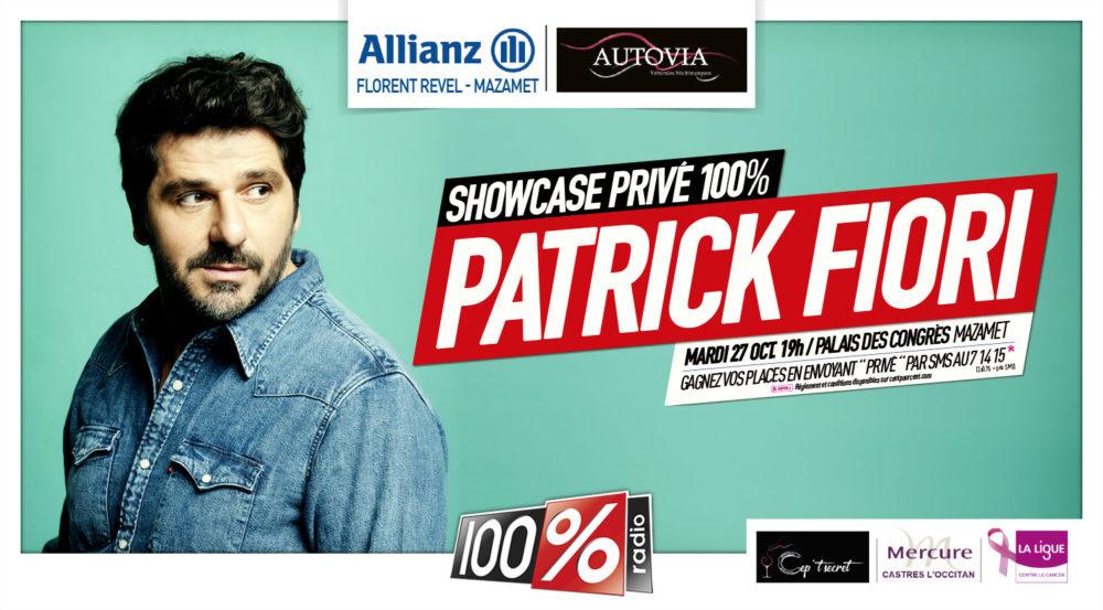 100% Radio utiliza la solución de Ticketing de Digital Virgo para su Showcase privado de Patrick Fiori