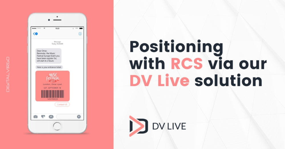 Digital Virgo Group positions itself with RCS via its DV Live solution