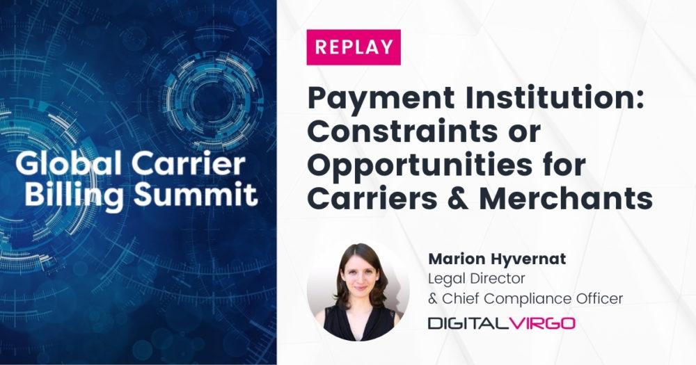 Payment Institution: barreras u oportunidades para carriers y merchants