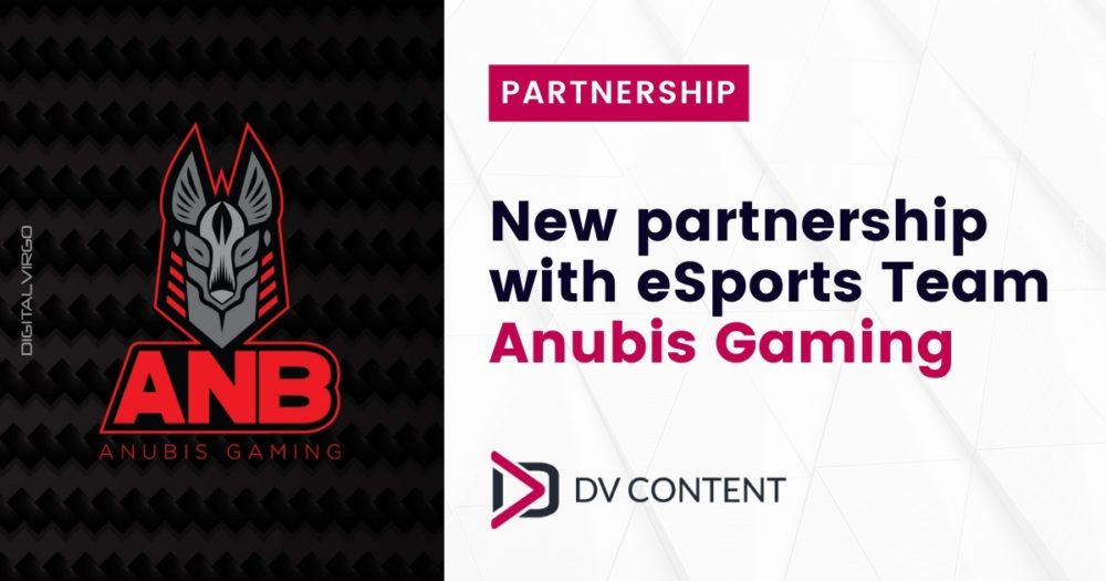 New partnership with eSportS team Anubis Gaming
