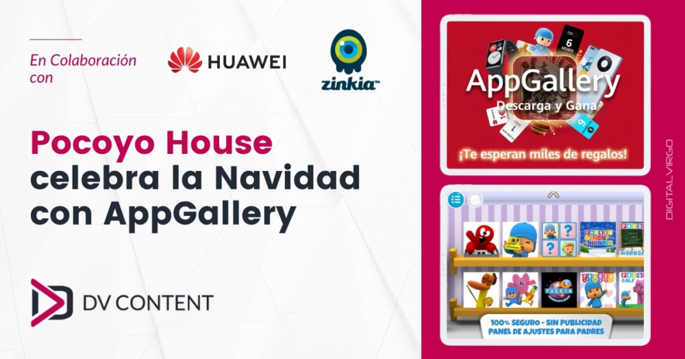 Celebrating Christmas with Pocoyo House & AppGallery