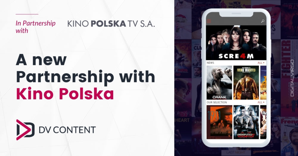 A new partnership with Kino Polska