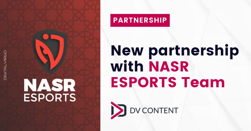 New partnership with NASR eSports Team