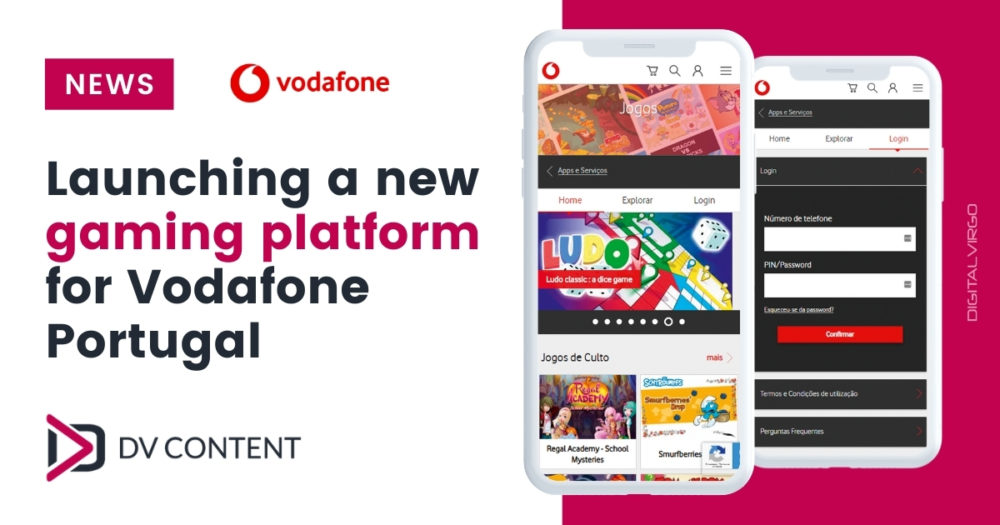 Launching a new gaming platform for Vodafone Portugal