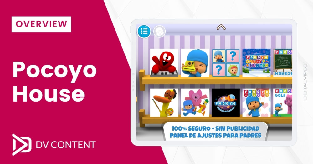 Overview of Pocoyo House