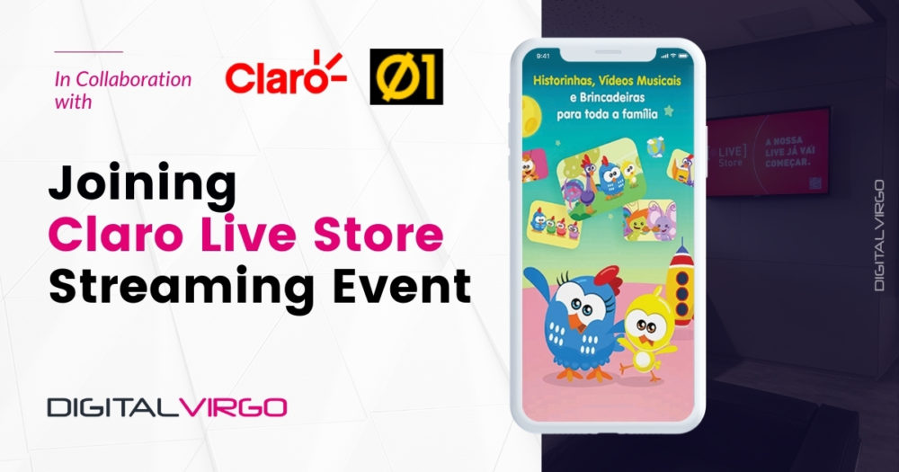 Joining Claro Live Store Streaming Event