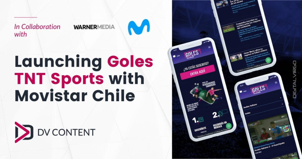 Lauching Goles TNT Sports with movistar Chile