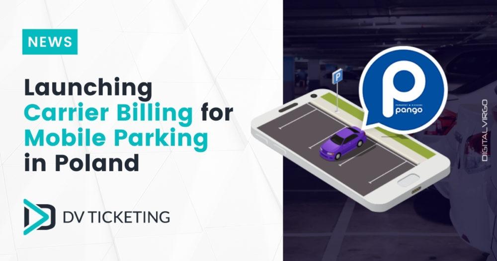 Digital Virgo lanza Carrier Billing para el sistema de pago de aparcamiento móvil de Pango
