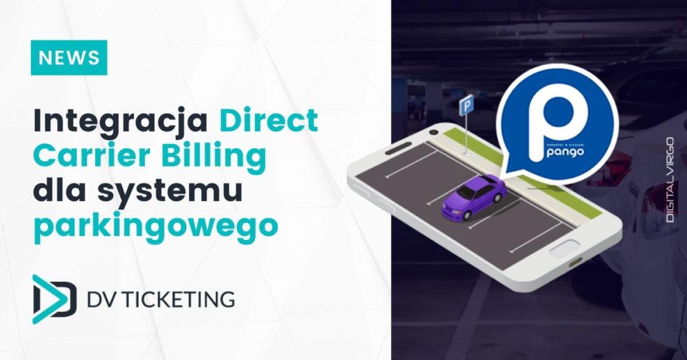 Pango integruje Direct Carrier Billing przy współpracy z Digital Virgo w swoim systemie płatności parkingowych