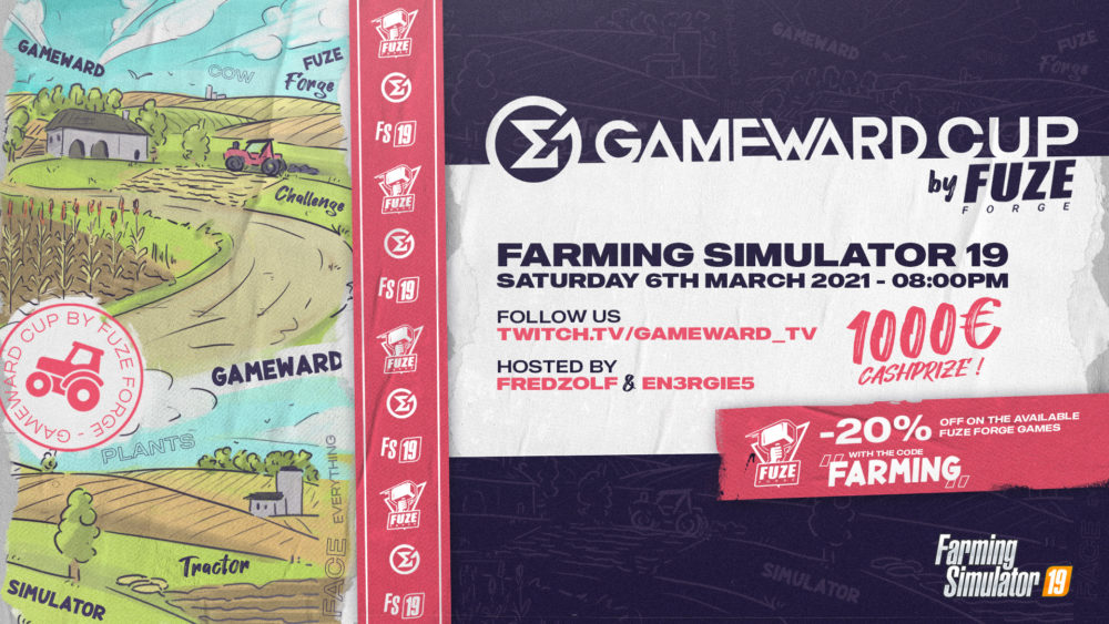 Gameward Cup by Fuze Forge on 6th of March