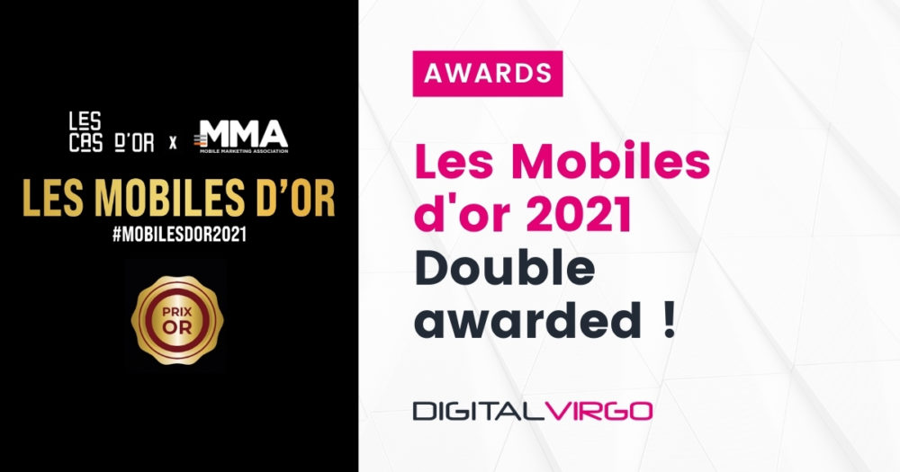 Digital Virgo is double awarded at Les Mobiles d'Or