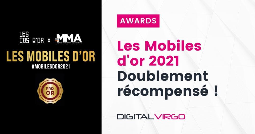 Digital Virgo est doublement récompensé aux Mobiles d'Or