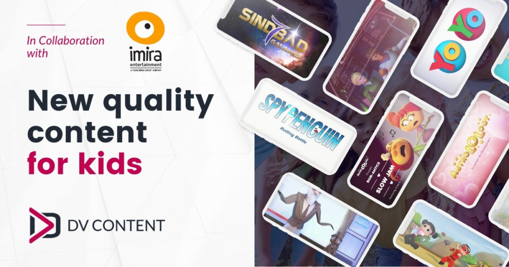 New partnership with Imira Entertainment – more quality content for kids!