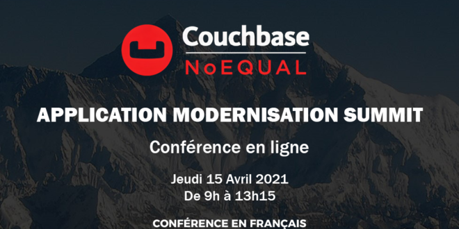 Webinar 15 Avril – Couchbase : Importance de l'adoption du Cloud et du Big Data