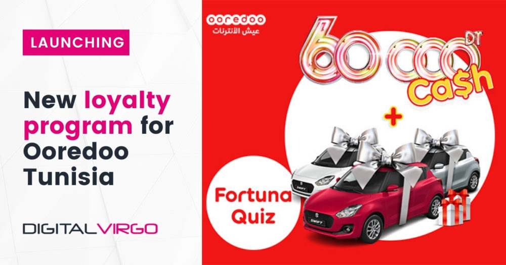 Launching our first MEGA WIN with OOREDOO TUNISIA (FORTUNA QUIZ)