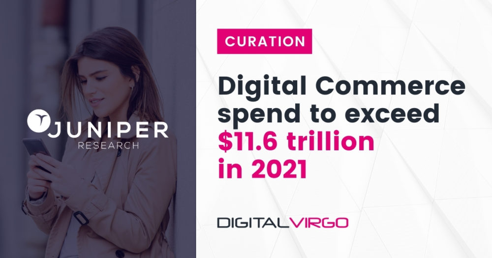 Digital commerce speend to exceed 11 trillion in 2021