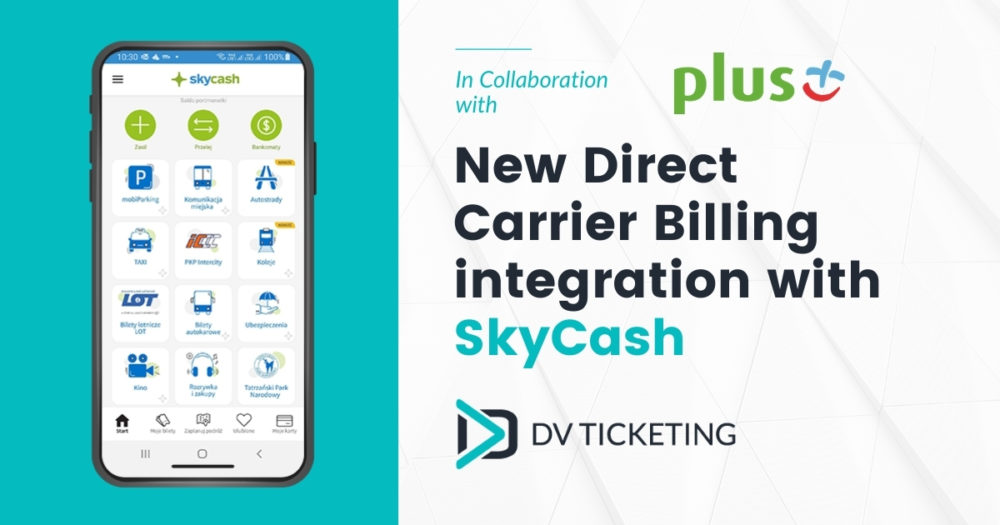 New Direct Carrier Billing integration with SkyCash