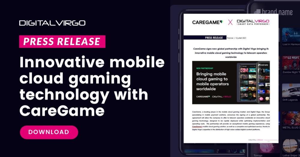 New partnership with CareGame