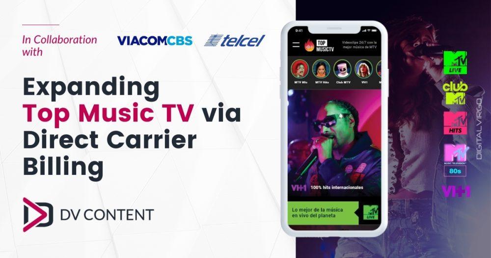 Expandiendo Top Music TV a través de Direct Carrier Billing