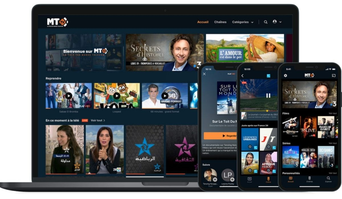 Molotov Solutions, Digital Virgo, and Maroc Telecom Launch its OTT Platform, MT TV